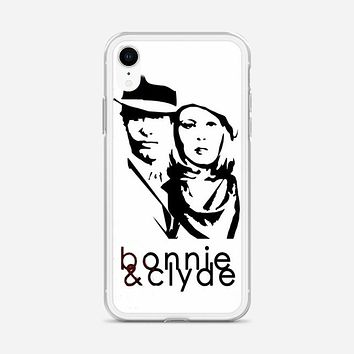 Bonnie And Clyde Logo iPhone XR Case