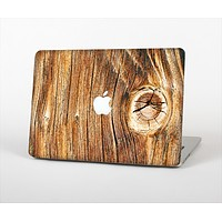 """The Knobby Raw Wood Skin Set for the Apple MacBook Pro 13""""   (A1278)"""