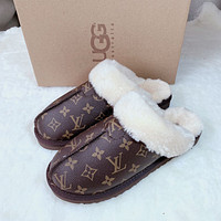 LV / ugg slippers