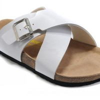Birkenstock Guam Sandals Leather White