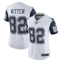 Women's Dallas Cowboys Jason Witten Nike White Vapor Untouchable Color Rush Limited Jersey