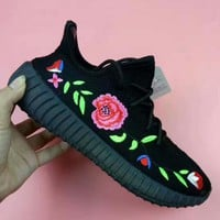 ADIDAS YEEZY 350 V2  ROSE Sport Casual Shoes Sneakers black H-CSXYQGCZDL-CY