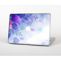 """The Magical Abstract Pink & Blue Floral Skin Set for the Apple MacBook Air 13"""""""