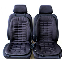 2016 Winter Warmer Car Heated Seat Cushion Hot Cover Heat Heating- 2 Pieces Conjoined Free Shipping