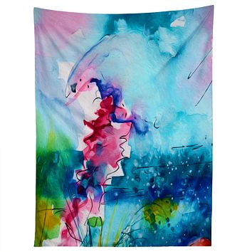 Ginette Fine Art I Love Jellyfish Tapestry