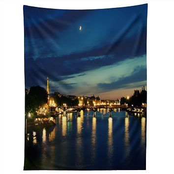 Chelsea Victoria Paris I Love You Tapestry