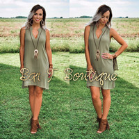 Boho Feather Dress