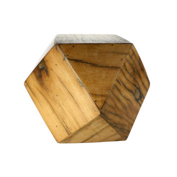 Natural Wood Block - Medium