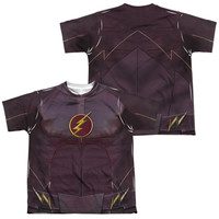The Flash TV Show Sublimated Youth Costume T-Shirt