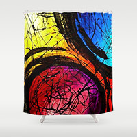 Come Together Shower Curtain by Samantha Lynn