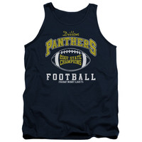 FRIDAY NIGHT LIGHTS/STATE CHAMPS - ADULT TANK - NAVY - XL - NAVY -