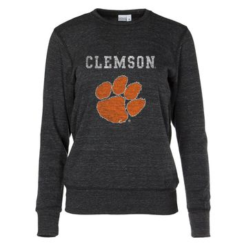 Official NCAA Clemson University Tigers - 01AMDT16 Women's Crew Neck Sweatshirt