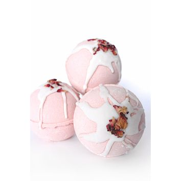 Rose Clay  - Handmade Luxury Bath Bombs