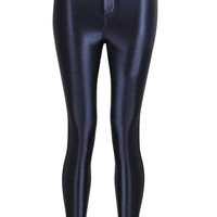 Rock n Shine Premium Disco Navy Leggings