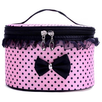 1PCS Portable Travel Toiletry Makeup Cosmetic Bag Organizer Holder Handbag use for make up Set Kits