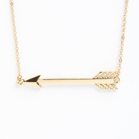 SIDE ARROW NECKLACE