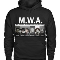MWA Horror Legends Pullover Hoodie 8 Oz
