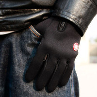 Touch Screen Unisex Windproof Warm Gloves For Outdoor Cycling Skiing Hiking
