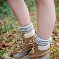 Cozy Duck Boots: Camel