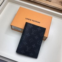 Kuyou Lv Louis Vuitton Fashion Women Men Gb19530 N64501 Passport Holder  10.0 X 14.0 X 2.5 Cm