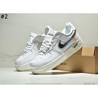 NIKE AIR FORCE 1 trend men and women personality versatile sports shoes #2
