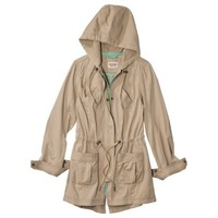 Mossimo Supply Co. Junior's Long Anorak Coat -Assorted Colors