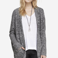 MARLED ROUND HEM COVER UP from EXPRESS