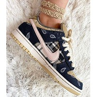 Travis Scott x Nike SB Dunk Low Trending Men Women Retro Sport Running Shoes Sneakers
