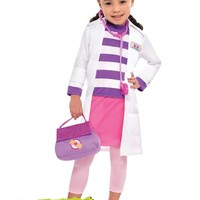 Toddler Girls Doc McStuffins Costume- Party City