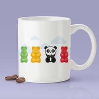 Cute Gummi Bear Panda Mug [Gift Idea - Makes A Fun Present] Now 30% Off - This Week Only! [Panda Lovers Unite!]