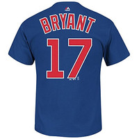 Kris Bryant Chicago Cubs Youth Royal Player T-Shirt by Majestic Select Youth Size: X-Large - 18