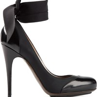 Lanvin bow pumps