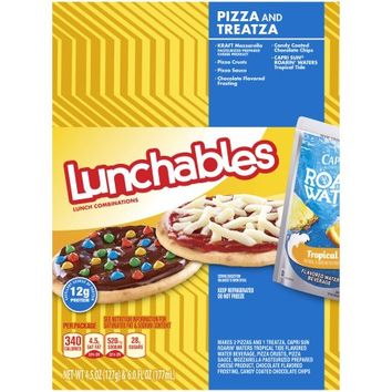 Lunchables Pizza and Treatza Lunch Combinations 4.5 oz. Tray - Walmart.com