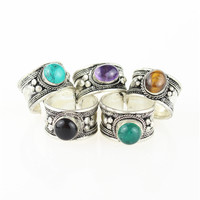 Mystified Amulet Ring *Various Colors