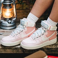 NIKE W AF1 HI UT high-top women's sports running shoes