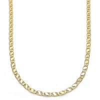 Gold Layered Basic Necklace, Golden Tone