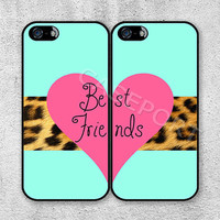 Best Friends iPhone 5 Case, iPhone 5 Cover, Case for iPhone 5, iPhone Hard Case