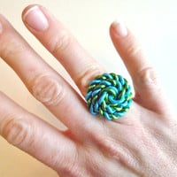 Sailor Knot Ring Custom Made Wire Ring by refreshingdesigns