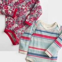Snap Body - organic baby suit 3 mo. to 6 mo.