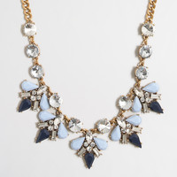 Factory pointed clusters necklace