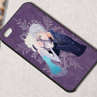 bestsellercaze # Elsa and Jack Frost for iphone, samsung galaxy and ipod touch cases