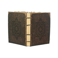 Rome notebook with coptic binding - Travel journal - Vintage Inspired