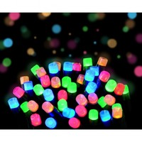 Frosted LED Multi Coloured Christmas Lights   Outdoor Frosted LED Lights   Indoor Frosted LED Lighting   Premier Indoor Outdoor Frosted LED Christmas Lights