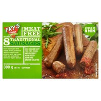 Frys Traditional Sausages 380g (cold)