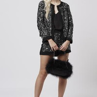 Sequin Jacket and Shorts