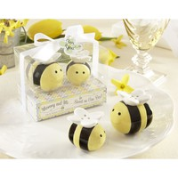Kate Aspen Sweet As Can Bee Salt & Pepper Shakers (Yellow)