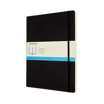 """Moleskine Dotted Classic XXL (8.5"""" x 11"""") Notebook - Soft Cover"""