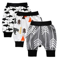 Children's pants in fashion cotton pants newborn baby pants for boys and girls pants