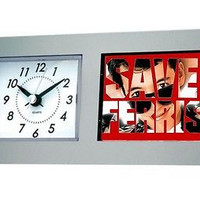 Save Ferris Bueller's Day Off prop Desk Table Clock
