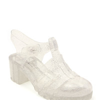 SHOES / Jelly Glitter Sandals